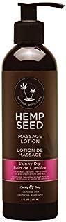 Earthly Body Hemp Seed Massage Body Lotion (8 fl. oz.) - Skinny Dip