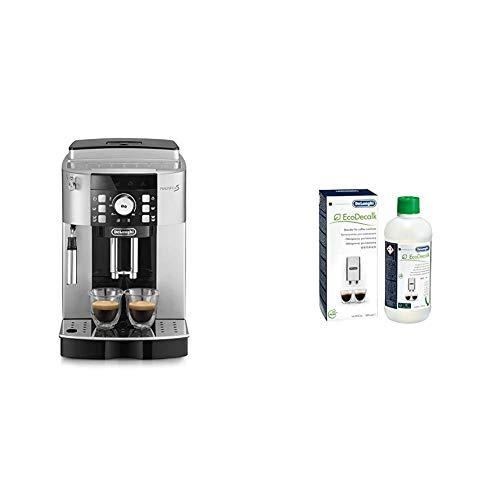 De\'Longhi ECAM 21.117.SB Magnifica S Macchina da Caffè Automatica & DLSC500 ECODECALK Decalcificante Macchine Caffè Ecologico, Ingredienti da Materie Prime Naturali, 500 ml