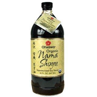Raw Organic Nama Shoyu-32 ozs by Goldmine