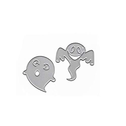 Halloween - Plantilla de metal para corte de murciélago, para álbumes de recortes, tarjetas de papel, gofrado, artesanía, decoración