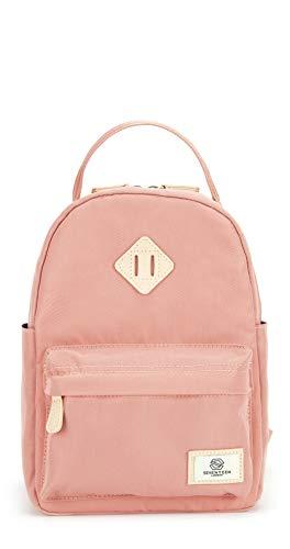 SEVENTEEN LONDON – Moderner und stilvoller 'Mayfair Mini' Rucksack in rosa mit einem klassischen Design – perfekt für Tablets