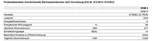 Stiebel Eltron DHM 3 | 3,5 kW Variante - 6