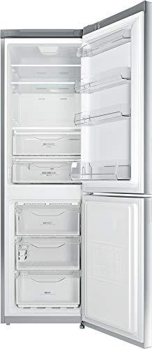 Privileg PRBN 386S A+++ Kühl-/ Gefrier-Kombination/ NoFrost/ Cool Care Zone/ 338L Gesamtnutzinhalt/ 104L Gefrieren / LED-Licht/ Superkühlfunktion/ silber