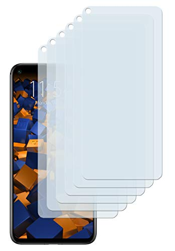 mumbi Schutzfolie kompatibel mit Huawei Honor 20 Pro Folie klar, Bildschirmschutzfolie (6X)