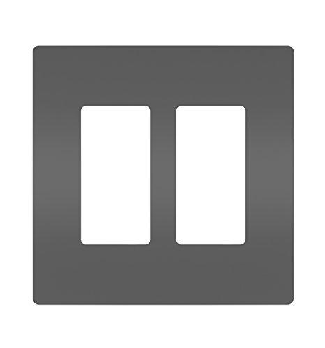 legrand-pass & Seymour rwp262bkcc6Radiant placa 2G BLK