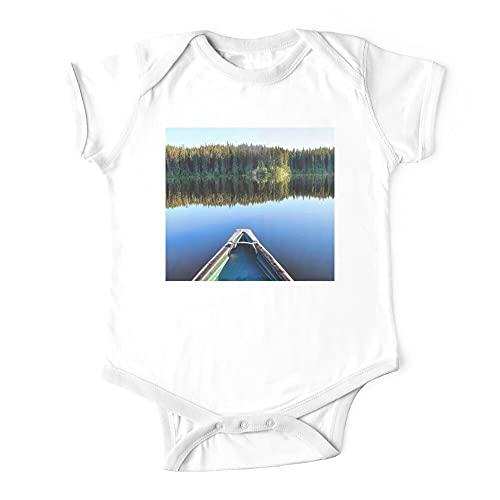 HABAH Mono de bebé de una pieza en canoa en Lonely Lake