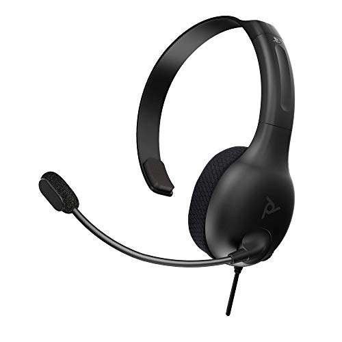 PDP LVL30-Chat-Headset für Sony PlayStation 4 & 5 in schwarz [