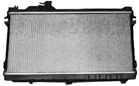 TYC 1140 Compatible with MAZDA Miata 1-Row Plastic Aluminum Replacement Radiator