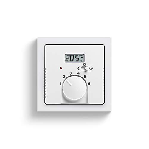 Niessen olas - Tapa termostato calefacción con interruptor serie olas titanio