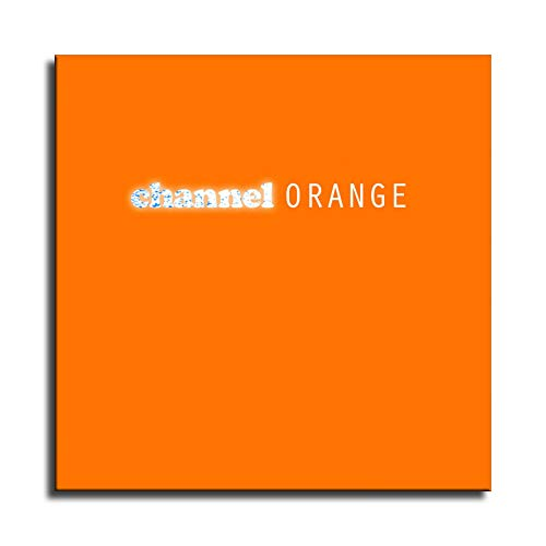 Frank Ocean Channel Orange Wall Art for Living Room Print Artwork Wall Art Decor Poster Painting Canvas Prints Picture Home Office Wall Decor -279 (No Framed,12x12 inch)