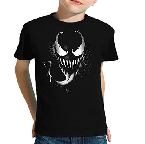 Camiseta de NIÑOS Spiderman Venom 058 9-10 Año
