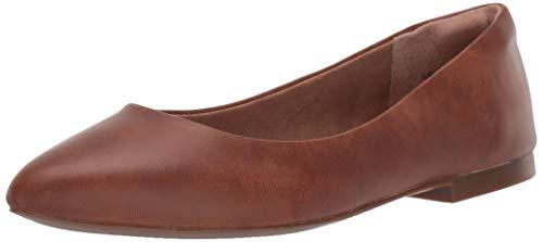 Amazon Essentials Women's May Loafer Flat, Tan, 9 B US