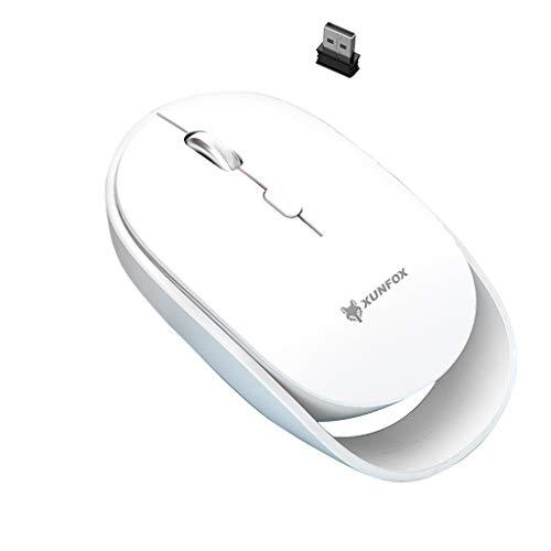 Qirun XYH60 2.4 GHz inalámbrico Gaming Mouse receptor USB 3 engranaje 1600 DPI ordenador silencioso