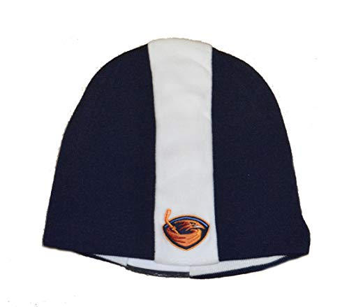 American Needle Hartford Whalers Classic Navy Blue Skull Cap - NHL Cuffless Winter Knit Beanie Toque Hat