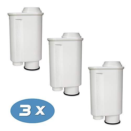 3-pack Wasserfilter für Espressomaschine Kaffeevollautomat kompatibel Philips Saeco Brita Intenza+ Plus CA6706/48 CA6702/00 CA6702/10 Moltio Incanto Exprelia Intelia Lavazza Gaggia A Modo Mio Rondo