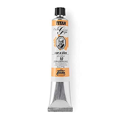 Oleos TITAN GOYA 200 ml (Ocre Amarillo Claro 86)