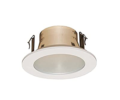 4 Inches Frosted Lens Shower Trim for Line Voltage Recessed Light/lighting-white Fit Halo/juno