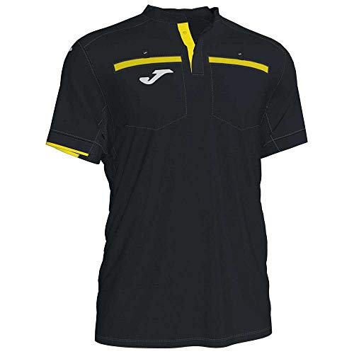 Joma 2XL Camiseta Manga Corta Referee, Unisex-Adult, Negro