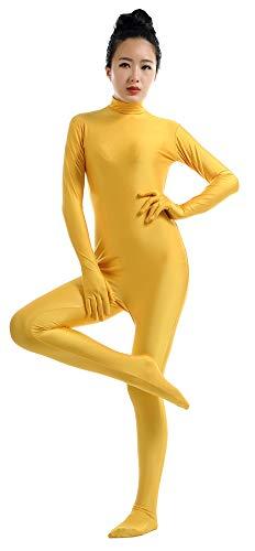 SK Studio Lycra Corps Académique Femme Manches Longues Zentai Combinaison Unitard Adultes Déguisement Cosplay Costumes