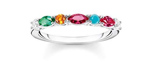 Thomas Sabo anillo Mujer Plata esterlina circonita - TR2341-477-7-58