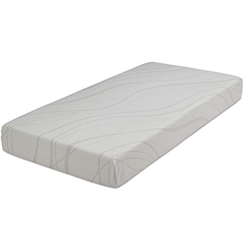 Delta Home 6-inch Memory Foam Mattress   Bed in a Box   Waterproof   Certified by CertiPUR-US (Natural/Non-Toxic)   5-Year Warranty, Twin Mattress
