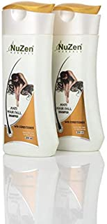 Nuzen Herbals Anti Hair Fall Shampoo with Conditioner   Prevents Hair Fall, Hair Loss and Hair Damage   Enriched With Aloe...