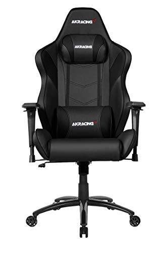 AKRACING Chair Core LX Plus Gaming Stuhl, PU-Kunstleder, Schwarz/Carbon, One Size