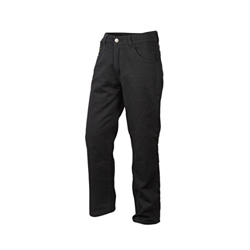 ScorpionExo Covert Jeans Men's Reinforced Motorcycle Pants (Black, Size 30)