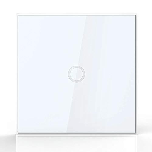 Interruptor de luz de pared NEO Coolcam Z-wave 1CH Gang Z Wave Control remoto inteligente inalámbrico Interruptor de luz de la UE Automatización del hogar