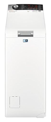 AEG L7TE84565 Waschmaschine / EEK A+++ ( 122 kWh/Jahr / 6 kg / ProSteam Technologie / ProSense Mengenautomatik / Toplader / Startzeitvorwahl / Knitterschutz