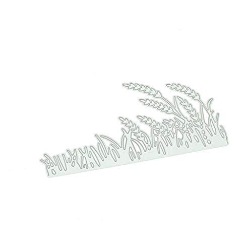 follwer0 Matrices de découpe en métal de blé soufflé Coupes pour Bricolage Scrapbooking Album Papier Carte Photo Papier Cartes Artisanat