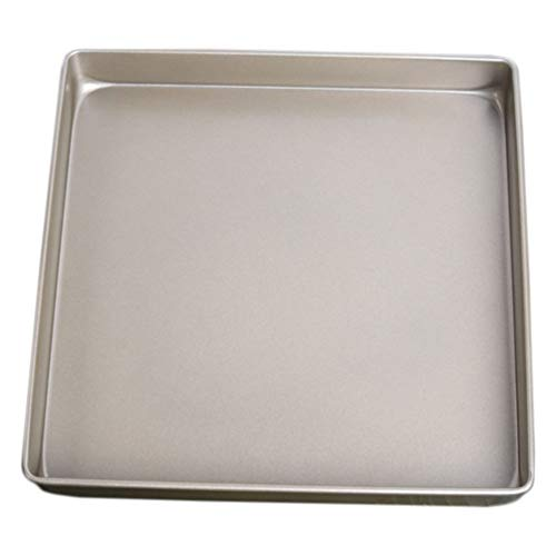 Hemoton Bakplaat 11 Inch Vierkante Anti-Aanbak Bakplaat Pan Metalen Bakplaat Nougat Hulpmiddel Voor Thuis Restaurant