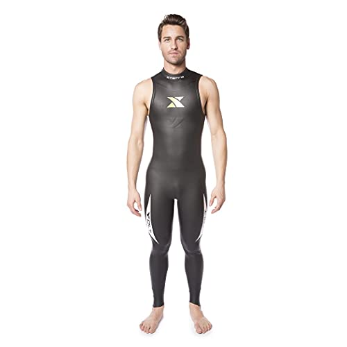 XTERRA Wetsuits - Men's Volt Triathlon Wetsuit - Full Body Neoprene Wet Suit (3mm Thickness) (Small) | Designed for Open Water Swimming - Ironman & USAT Approved