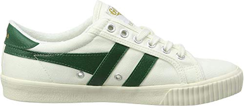 Gola Damen Tennis Mark Cox Sneaker, Weiß (Off White/dk.Green Wn), 37 EU