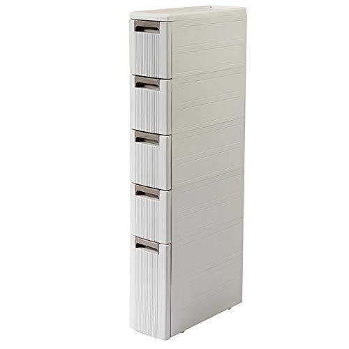 ODIFFTY - Cajonera para dormitorio Narrow - Gestión de almacenamiento de cocina - Limita el frigorífico del Gobierno - Estante de baño multicapa - Gestión de almacenamiento del cajón de almacenamiento