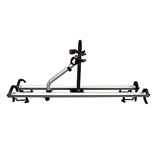 CyclingDeal Alloy Car Roof Bicycle Carrier Rack for 2 Bikes Max Load 66 lbs - SUV Rooftop Mounted