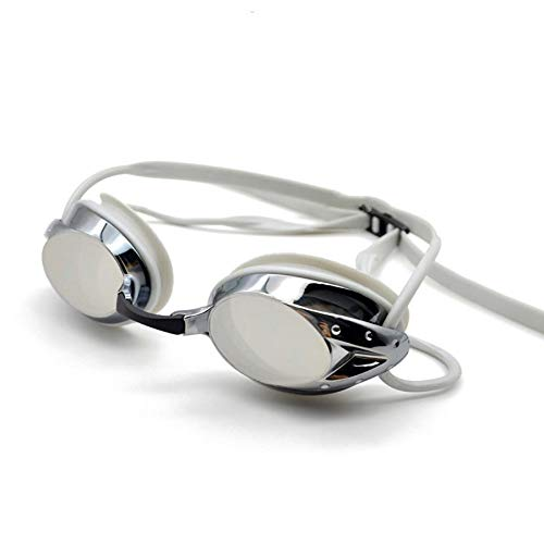 YYLSHCYHLI Gafas de natación Gafas Hombres Mujeres Gafas de natación Dioptría Impermeable Antivaho UV Gafas de Piscina Gris