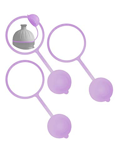 FreeWater Hygienekappe, lila-transparent, 3 Stück (passt auch für ISYbe)