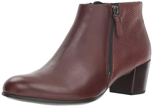 ECCO Women's Shape M 35 Ankle Boot, Mink/Bison, 9-9.5