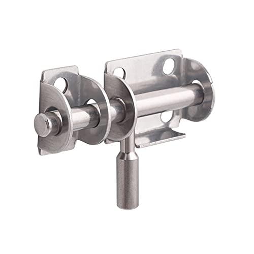 Fournitures de bureau Acier inoxydable glissant HASP loquets de porte chaîne de porte serrures de la porte de la salle de bain armoire de porte coulisseau coulissant boulon verrouillage outils de sécu