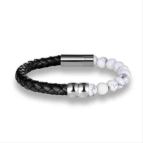 JYHW Natural Beads Strand met leren armband, tijgeroog, voor dames en heren, beste cadeau, pulsera, boeddha, jewelry tijgeroog, tijgeroog