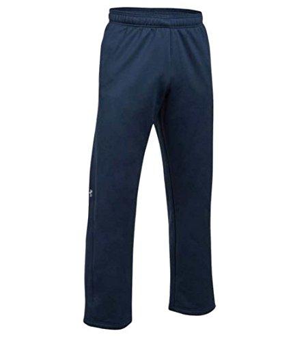 Under Armour Double Threat Armour Fleece Pant, Midnight Navy (410)/Steel, Small