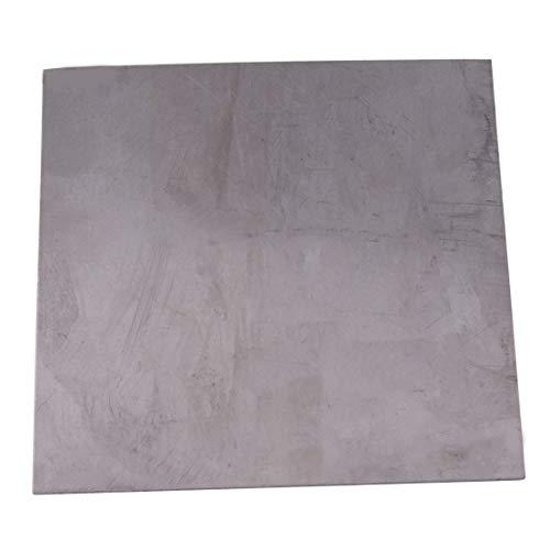 Eastar 0.5mm(0.02inch) Dickes quadratisches Titanfolienblech Ti Dünnes Plattenmaterial 99.8{1ccd7fea83457df835b3f149f9c91334d1917ccc2e54e11b2fc6e86bef389eec} Reinheit Metallbearbeitungszubehör