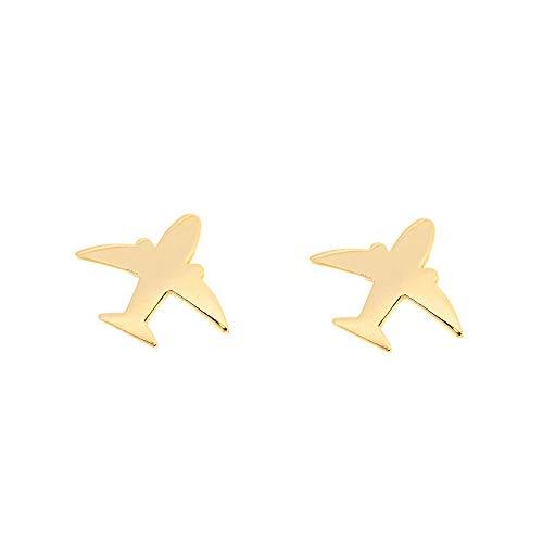 Pendientes oro niña Avión (9Kts)
