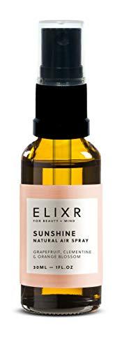 ELIXR Raumspray Sunshine 30ml I Grapefruit Mandarine Orangenblüte I 100% naturreine ätherische Öle I Raumduft, Duftspray, Lufterfrischerspray