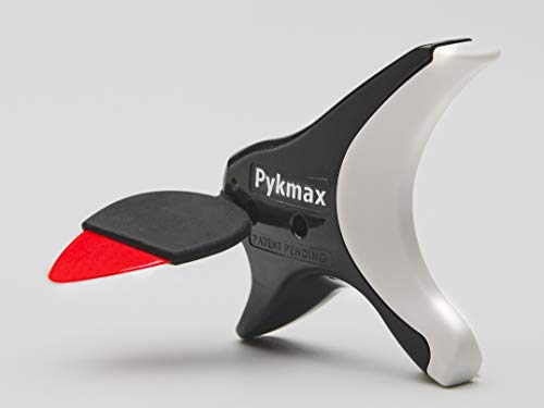 Pykmax UPP - Snap-In and Instantly Upgrade Your Guitar Pick - Includes Three Extenders, Two Pick Grips - Ergonomic, Never Drop Your Pick Design. For All Player Levels.