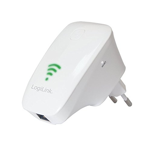 LogiLink WL0193 WiFi Repeater (2T2R) Wireless N 300 Mbit/s