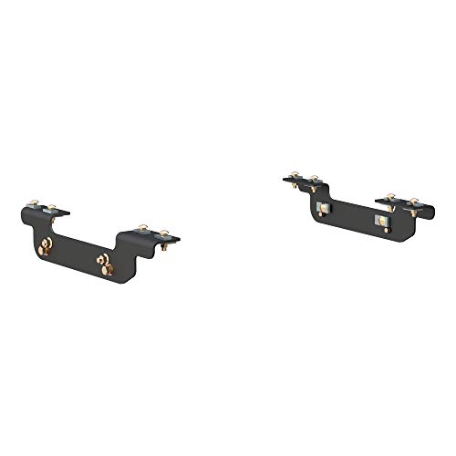 CURT 16411 5th Wheel Installation Brackets, Select Chevrolet Silverado, GMC Sierra 2500, 3500 HD, Except Cab & Chassis