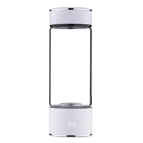 U/K Botella de Agua Rica Rica de hidrógeno portátil de 3 Minutos Alto-concentración Generador de hidrógeno Vidrio Taza de Agua Anti-envejecimiento Alcalino Generador de Agua 420ml (Color : 1)