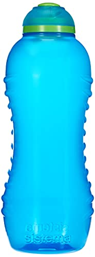 Sistema Hydrate Twist  n  Sip - Botella de plastico, Azul, 460 ml, 1 unidad